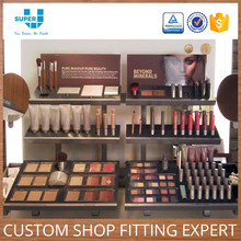 Good Sale Retail Shop Display Case Professional Makeup Display Stands