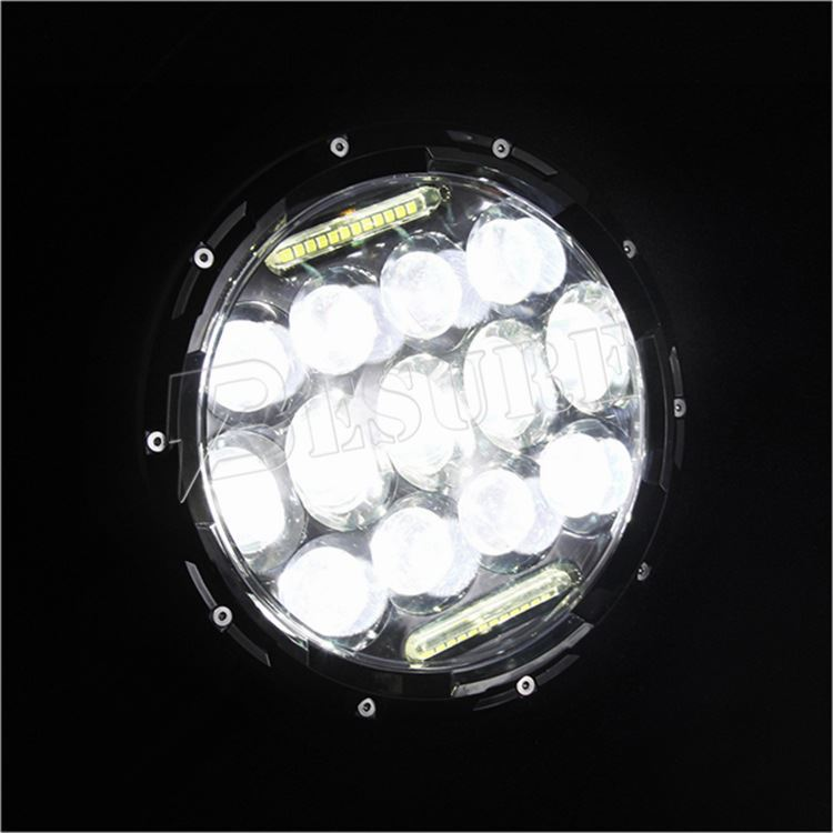 New LED Car Accessories H4/HB2/9003 High Power LED Headlight H13/9008 LED Car Headlight with DRL for Wrangler