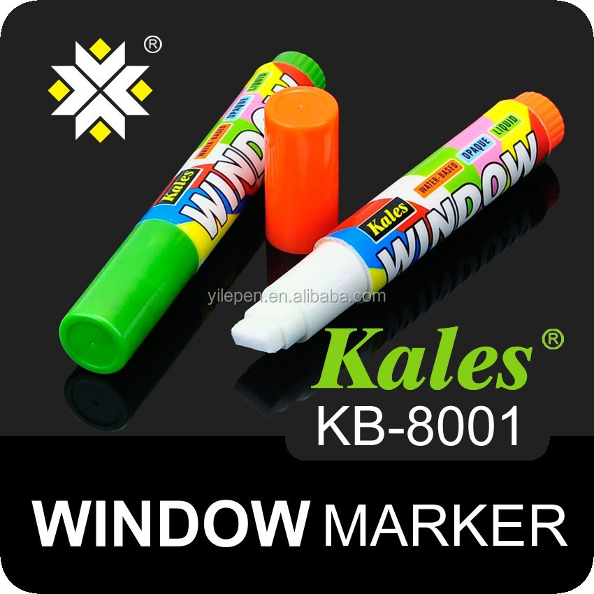 Chalkboard maker 8 pcs Highlighter Fluorescent Liquid Chalk Marker Pen for LED Writing Board window marker