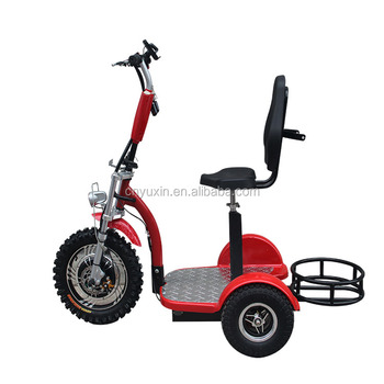 three wheel electric scooter with seat YXEB-712