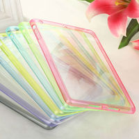 For iPad mini 2 Scratch Resistant Transparent Clear Crystal Dust Case Cover