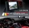 Mini 3.5 Inch TFT LCD Car Rearview Color Camera DVD Monitor