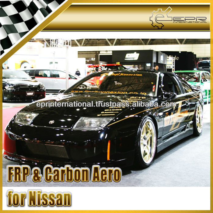 For Nissan Z32 300ZX Final Konnection Carbon Fiber Full Bumper Body Kit