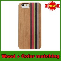 Hot selling wood christmas mobile phone case for iphone6