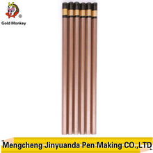 7inch paint wooden dip end pencil for kids