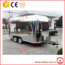 Hot selling ice cream vending cart/mobile ice cream trailer