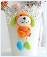 Decorative plush toys friend gifts Lovely Colorful Hawaii Series - Dog Hanging Plush