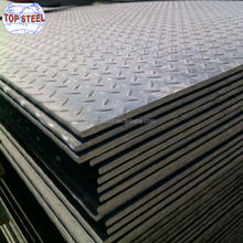 SS400 q235 Chequered steel Floor Plate checker plate specification