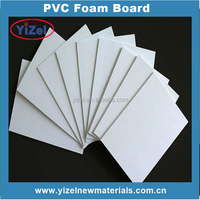 High quality Chinese factory plastic materials lightweight pvc foam sheet