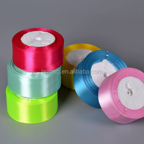 High Quality Wholesale Decorative printed Webbing Satin Ribbon roll in china