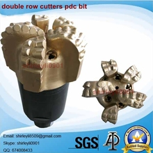 API Matrix PDC Drill Bits with Double Row Cutters