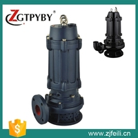 wq wearable centrifugal waste water submersible water pump with spare parts