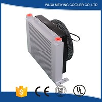 Stable quality hydraulic fan oil cooler for cat