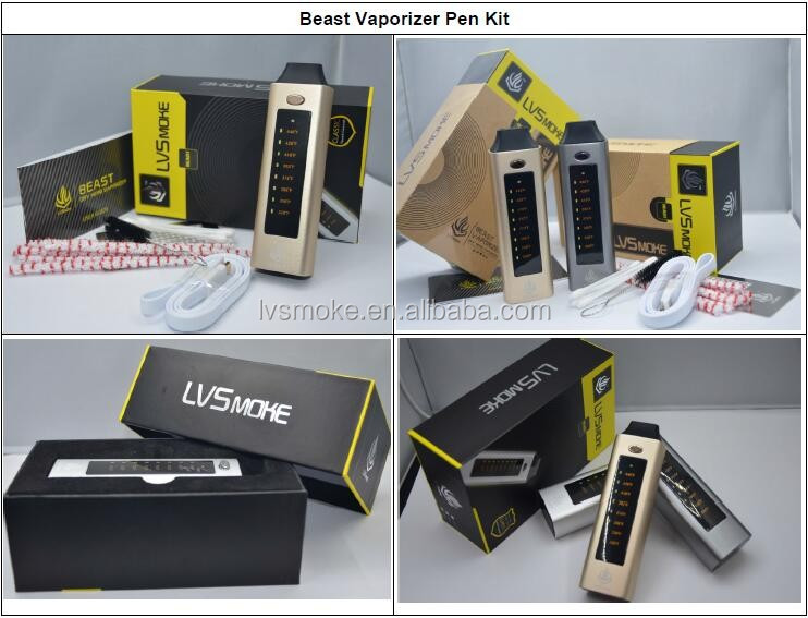 2016 Beast royal vaporizer smoke ego vaporizer pen wholesale by LVSMOKE