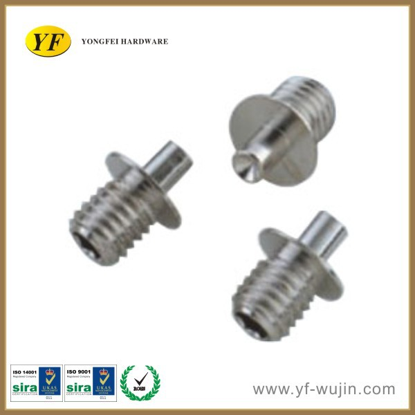 High precision aluminum screw