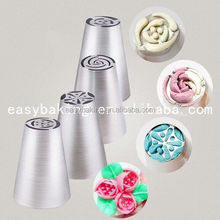 Stainless steel Russian cake nozzle cake icing nozzles /piping nozzles Cake Decorating tools