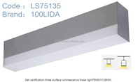 new product modular design competitive price 40w linear led light 75MM*135MM LS75135