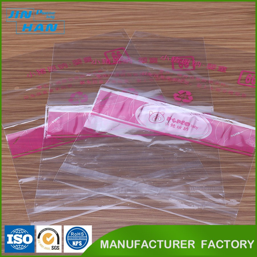 New Design Biodegradable Printed Bag Plastic Packaging for Clothing