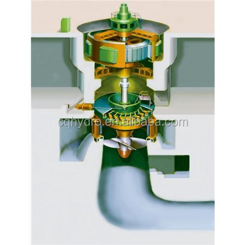 High Efficiency Mini Turbinas Hidraulics/Hydro Turbine Price