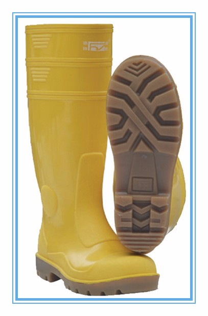 909 PVC anti oil and safty special rain boots 30years insist for better