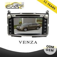 China factory special for toyota voice navigation venza with car radio FM AM