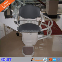 High performance electric hydraulic curved stair chair lift table