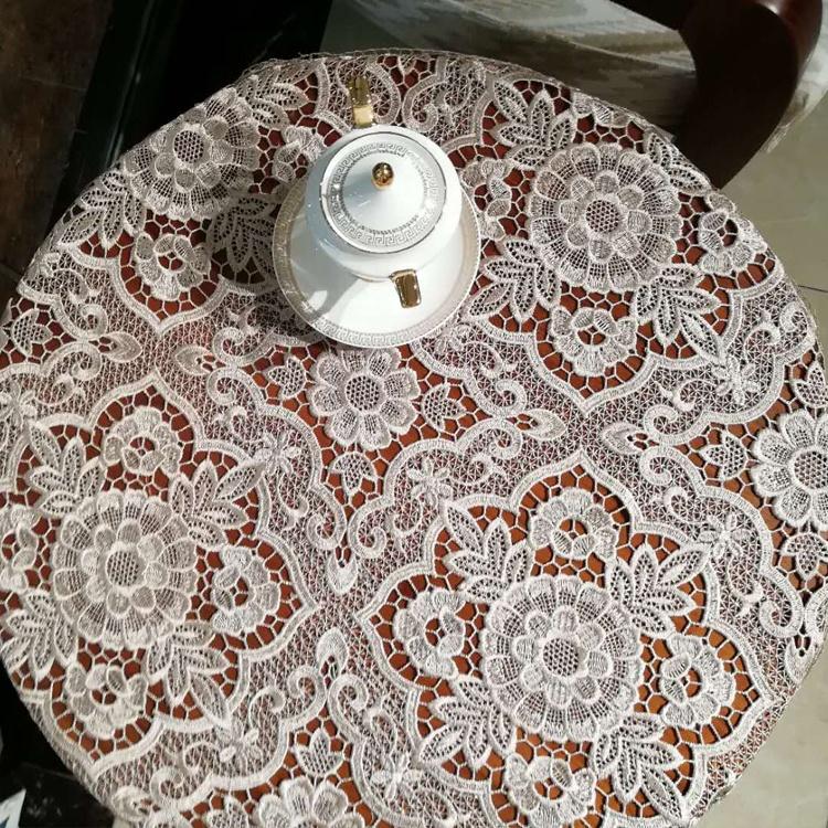 Wholesale Polyester 3d Flower Round Crochet Tablecloth Table Cloth 36x36 Buy Round Tablecloth Crochet Tablecloth Table Cloth 36x36 Product On