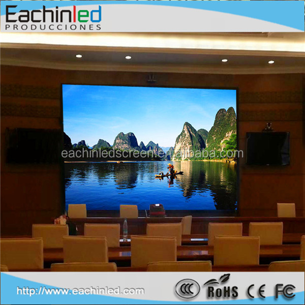 Stage background big display screen p4.81 led curtain