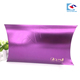 Factory cheap custom hot stamping logo scarf packaging paper pillow box