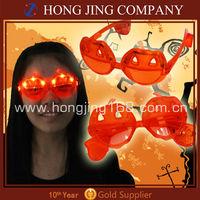 Halloween pumpkin led glasses