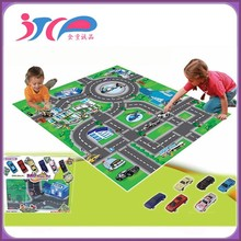 Newest chinese kids games baby play mat for babies safety game