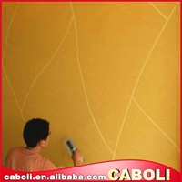 Caboli acrylic resin sand texture wall paint/water based crackle paint
