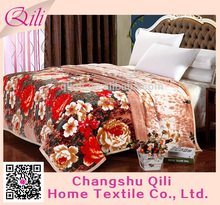 Flannel Blanket Solid Printed Fleece Blanket Made In China