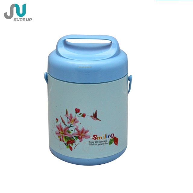 2014 hot sell thermal insulation lunch box,thermal food warmer lunch container (CSUR)