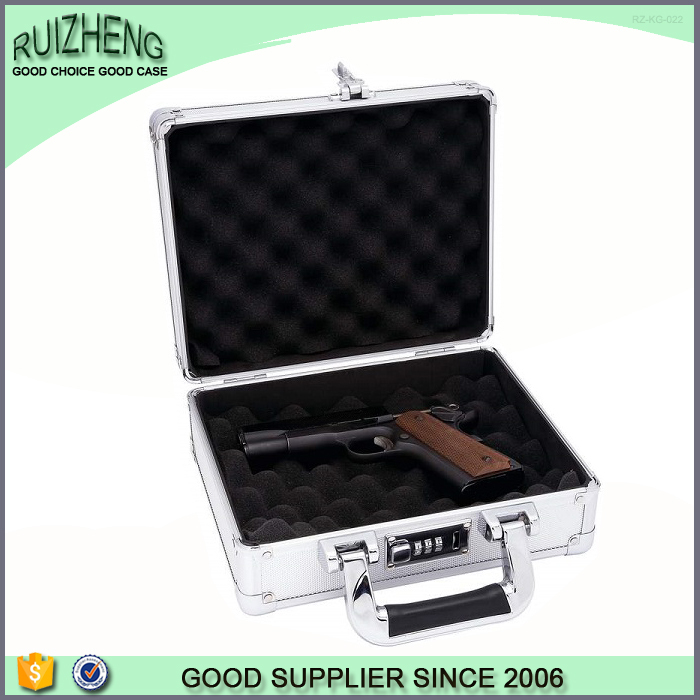 Professional custom logo leather gun case