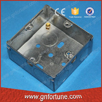 Waterproof galvanized sheet metal boxes 1 gang
