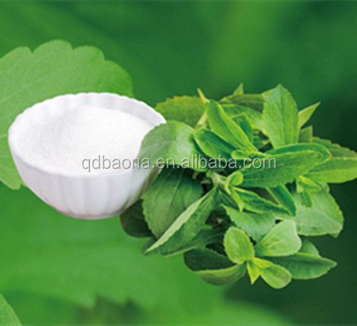 Organic Wholesale enzymatically stevioside 98% stevia sweetener used for cosmetics with ISO certification