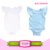 2017 Wholesale Solid Color 3 Layers Triple Ruffle Baby Futter Sleeve Onesie Bodysuit Baby Girls Long Flutter Sleeve Romper