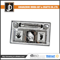 Chinese Fashion Design Modified Pattern Acrylic Frameless Picture Frame With Screw