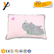 High quality EN71 comfortable plush animal seat cushion elephant shaped pillow