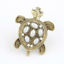 fashion rings jewellery lucky turtle ring