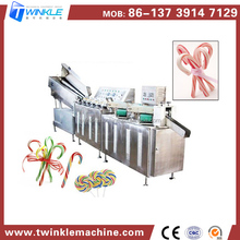 Cheap Wholesale Automatic Christmas Candy Cane Lollipop Making Machine
