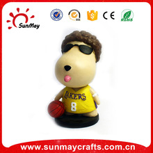 Wholesale resin cute basketball bobble head for sale