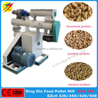 High quality professional animal feed pellet extrusion mill for sale