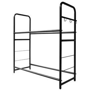 Metal commercial motorcycle tire storage rack for warehouse