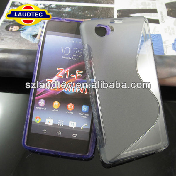 New Arrival S Line Case For Sony Xperia Z1 Mini Housing