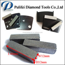 Floor Grinding Diamond Tools Head Stone Grinding Segment for Hot Press Trapezoid , HTC, Lavina Grinding Pad, Grinding Cup Wheels