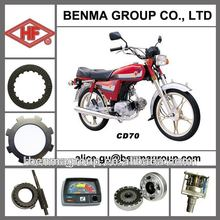 CD70 spare parts for pakistan market, motorcycle spare parts for CD70 motorcycle, 70cc motorcycle parts
