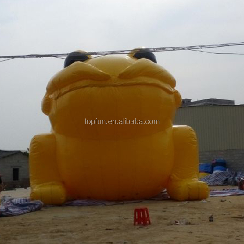 8M Attractive Cartoon Model Inflatable Forg