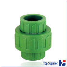 PPR water pipe fittings pipe union dimensions